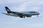 xxxxxzさんが、成田国際空港で撮影したルフトハンザドイツ航空 A380-841の航空フォト(飛行機 写真・画像)