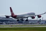 xxxxxzさんが、成田国際空港で撮影したヴァージン・アトランティック航空 A340-642の航空フォト(写真)