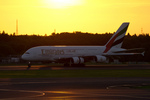 xxxxxzさんが、成田国際空港で撮影したエミレーツ航空 A380-861の航空フォト(飛行機 写真・画像)