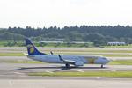 xxxxxzさんが、成田国際空港で撮影したMIATモンゴル航空 737-8CXの航空フォト(飛行機 写真・画像)