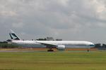 matsuさんが、成田国際空港で撮影したキャセイパシフィック航空 777-367/ERの航空フォト(写真)