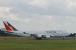 matsuさんが、成田国際空港で撮影したフィリピン航空 747-4F6の航空フォト(写真)