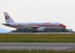 ふじいあきらさんが、広島空港で撮影した中国国際航空 A320-232の航空フォト(飛行機 写真・画像)