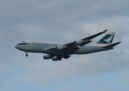 coconaruさんが、成田国際空港で撮影したキャセイパシフィック航空 747-412(BCF)の航空フォト(飛行機 写真・画像)