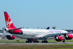 パンダさんが、成田国際空港で撮影したヴァージン・アトランティック航空 A340-642の航空フォト(写真)