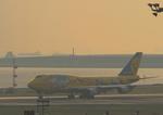 ふじいあきらさんが、羽田空港で撮影した全日空 747-481(D)の航空フォト(写真)