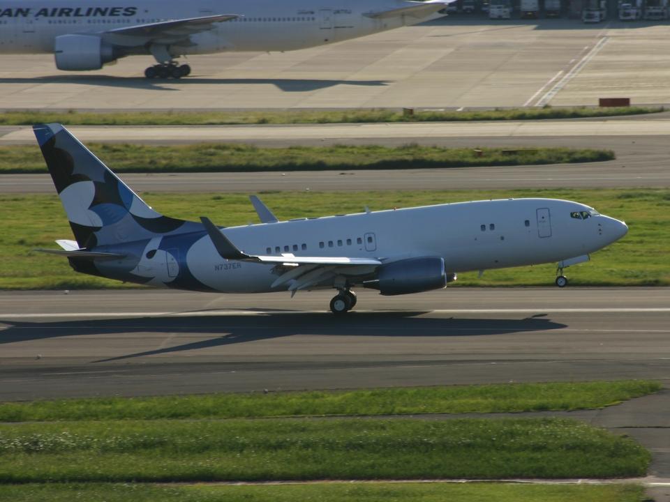 アイスコーヒーさんのBBJ One Boeing 737-700 (n737er) 航空フォト