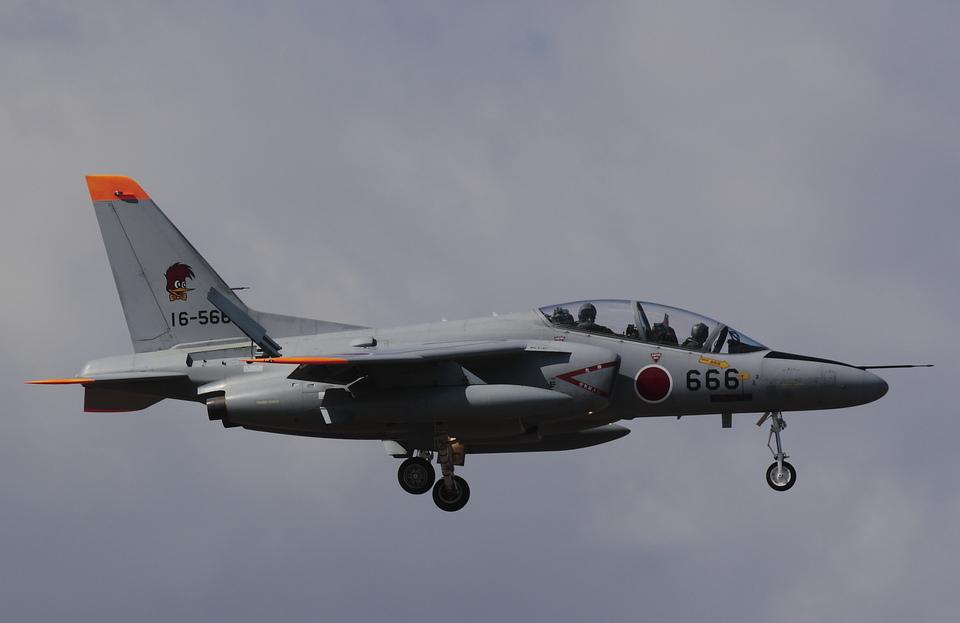 ありさんの航空自衛隊 Kawasaki T-4 (16-5666) 航空フォト