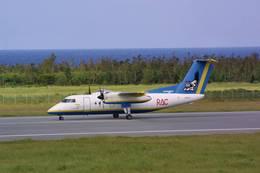 jk3yhgさんが、多良間空港で撮影した琉球エアーコミューター DHC-8-103Q Dash 8の航空フォト(写真)