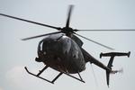 たっつーさんが、豊川駐屯地で撮影した陸上自衛隊 OH-6Dの航空フォト(写真)