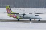 Scotchさんが、新千歳空港で撮影したエアーニッポンネットワーク DHC-8-314Q Dash 8の航空フォト(写真)