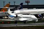 パンダさんが、成田国際空港で撮影したコーポレート・ジェット・マネジメント EMB-135BJ Legacyの航空フォト(飛行機 写真・画像)