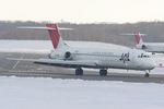 Scotchさんが、新千歳空港で撮影した日本航空 MD-87 (DC-9-87)の航空フォト(飛行機 写真・画像)