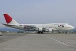 Scotchさんが、小松空港で撮影した日本アジア航空 747-346の航空フォト(飛行機 写真・画像)