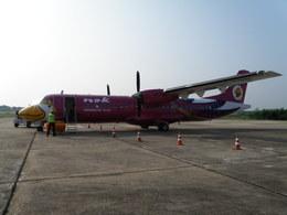 N755DLさんが、サコンナコーン空港で撮影したノックエア ATR 72-201の航空フォト(飛行機 写真・画像)