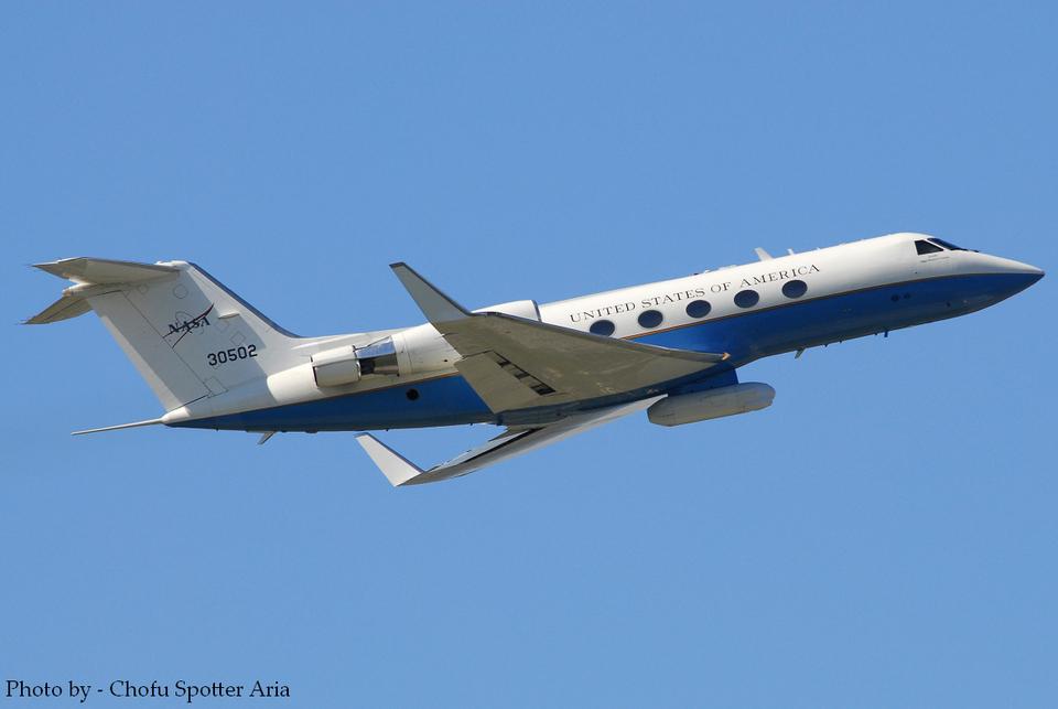 Chofu Spotter Ariaさんのアメリカ航空宇宙局 Gulfstream Aerospace G-1159A (83-0502) 航空フォト