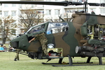 たまさんが、松戸駐屯地で撮影した陸上自衛隊 AH-1Sの航空フォト(写真)