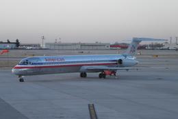 Laliluleloさんが、アルバカーキ国際空港サンポートで撮影したアメリカン航空 MD-82 (DC-9-82)の航空フォト(飛行機 写真・画像)