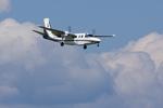 Severemanさんが、静岡空港で撮影したアジア航測 695 Jetprop 980の航空フォト(写真)