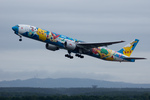 xxxxxzさんが、新千歳空港で撮影した全日空 777-381の航空フォト(写真)