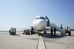ぽっつさんが、マンダレー国際空港で撮影したバガン航空 100の航空フォト(写真)