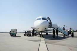 ぽっつさんが、マンダレー国際空港で撮影したバガン航空 100の航空フォト(飛行機 写真・画像)