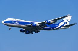 yoshioyajiさんが、成田国際空港で撮影したエアブリッジ・カーゴ・エアラインズ 747-4KZF/SCDの航空フォト(飛行機 写真・画像)