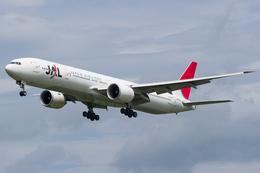 yoshioyajiさんが、成田国際空港で撮影した日本航空 777-346/ERの航空フォト(飛行機 写真・画像)