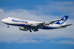 yoshioyajiさんが、成田国際空港で撮影した日本貨物航空 747-8KZF/SCDの航空フォト(飛行機 写真・画像)