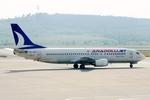 kinsanさんが、アドナン・メンデレス空港で撮影したアナドルジェット 737-4Y0の航空フォト(飛行機 写真・画像)