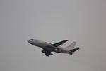 meijeanさんが、香港国際空港で撮影したトランスマイル・エア・サービス 737-275C/Advの航空フォト(写真)