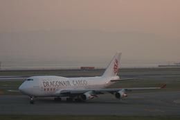 koyajiさんが、関西国際空港で撮影した香港ドラゴン航空 747-412(BCF)の航空フォト(飛行機 写真・画像)