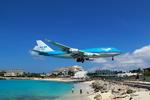 Automarkさんが、プリンセス・ジュリアナ国際空港で撮影したKLMオランダ航空 747-406Mの航空フォト(写真)