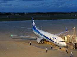 monakusoさんが、新潟空港で撮影した全日空 737-881の航空フォト(飛行機 写真・画像)