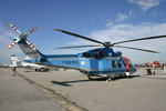 アイスコーヒーさんが、木更津飛行場で撮影した千葉県警察 AW139の航空フォト(写真)