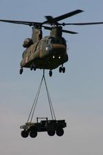 アイスコーヒーさんが、木更津飛行場で撮影した陸上自衛隊 CH-47Jの航空フォト(写真)