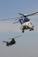 アイスコーヒーさんが、木更津飛行場で撮影した陸上自衛隊 EC225LP Super Puma Mk2+の航空フォト(写真)