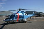 アイスコーヒーさんが、木更津飛行場で撮影した警視庁 A109E Powerの航空フォト(飛行機 写真・画像)