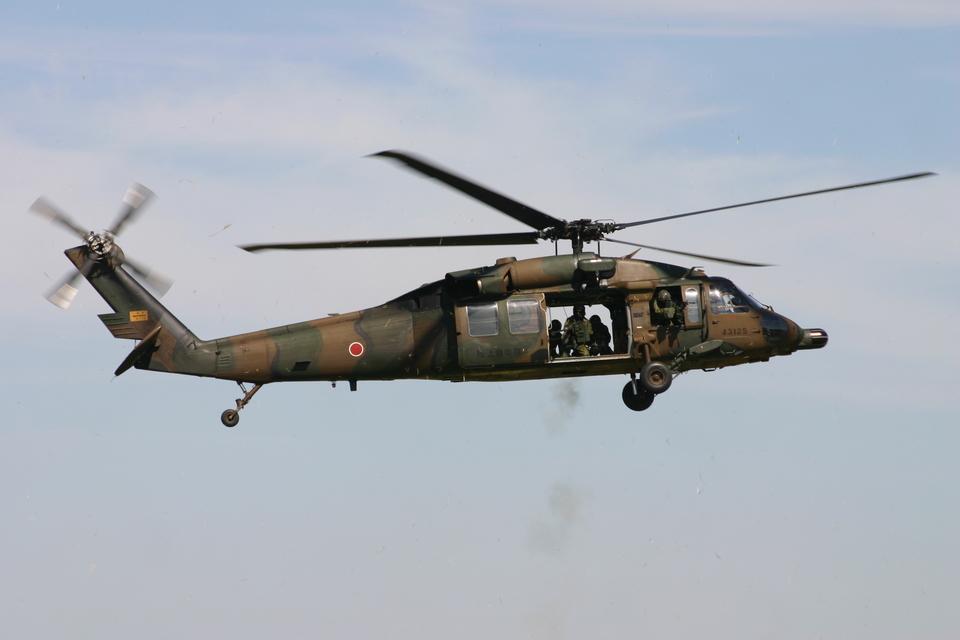 アイスコーヒーさんの陸上自衛隊 Mitsubishi UH-60JA (43125) 航空フォト