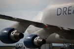 m-takagiさんが、中部国際空港で撮影したボーイング 747-409(LCF) Dreamlifterの航空フォト(飛行機 写真・画像)