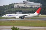 resocha747さんが、福岡空港で撮影した日本航空 777-246の航空フォト(写真)
