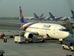 delawakaさんが、スワンナプーム国際空港で撮影したタイ国際航空 737-4D7の航空フォト(飛行機 写真・画像)
