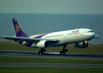 rjnsphotoclub-No.07さんが、中部国際空港で撮影したタイ国際航空 A330-343Xの航空フォト(写真)