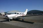 アイスコーヒーさんが、木更津飛行場で撮影した日本法人所有 PA-46-350P Malibu Mirageの航空フォト(写真)