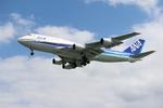 てるやっちさんが、那覇空港で撮影した全日空 747-481(D)の航空フォト(写真)