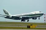 rjnsphotoclub-No.07さんが、中部国際空港で撮影したエバーグリーン航空 747-212B(SF)の航空フォト(写真)