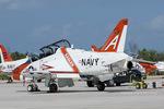 Scotchさんが、キーウェスト海軍航空ステーションで撮影したアメリカ海軍 T-45C Goshawkの航空フォト(飛行機 写真・画像)
