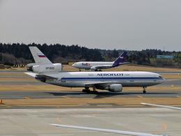 koyajiさんが、成田国際空港で撮影したアエロフロート・ロシア航空 DC-10-40Fの航空フォト(飛行機 写真・画像)