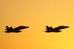 Naoxさんが、茨城空港で撮影したアメリカ海兵隊 F/A-18D Hornetの航空フォト(写真)