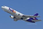 Scotchさんが、ロサンゼルス国際空港で撮影したフェデックス・エクスプレス MD-10-10Fの航空フォト(飛行機 写真・画像)